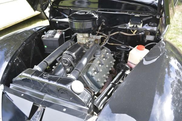 40 Ford Engine bay