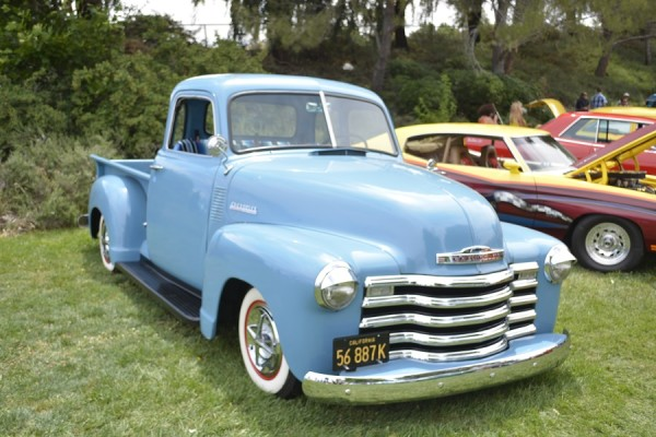 Early 50s Chevy pickup