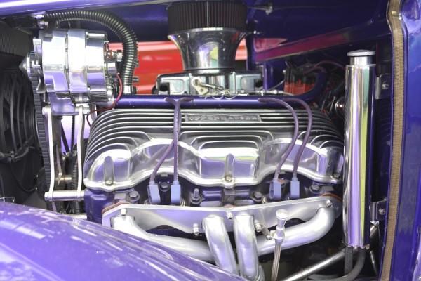 Purple Heaven Engine Bay